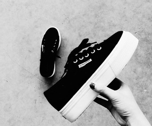 black, comfy, and shoes image