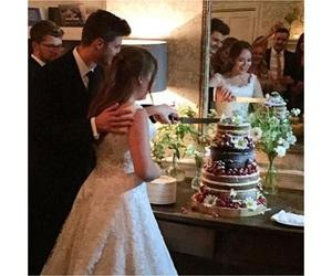 cake, flowers, and luxury image