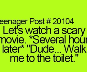 scary movie and teenager post image