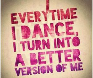 dance, quotes, and dancer image