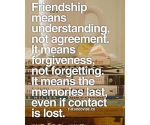 forgiveness, friendship, and lost image