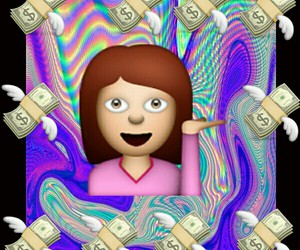 cool, money, and overlays image