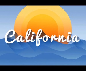 blue, orange, and california image