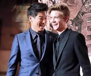 ki hong lee, newt, and the scorch trials image
