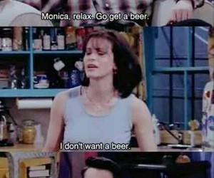 friends, funny, and beer image