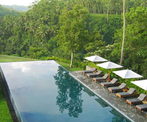 indonesia, nature, and pool image