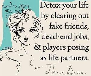 player, fake friends, and detox image