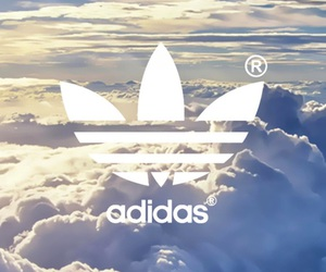 adidas, cool, and clouds image