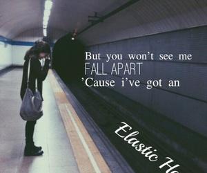 alone, girl, and Lyrics image