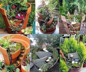 plants, diy, and garden image
