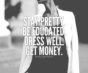 pretty and educated image