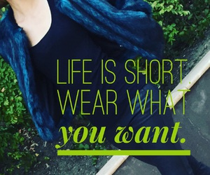 faux fur, style, and quote image