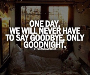 quote, love, and goodnight image