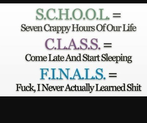 finals, school, and class image