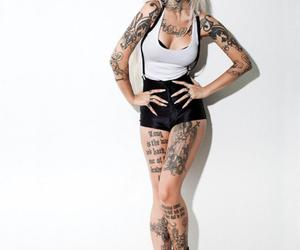 tattoo and sexy image