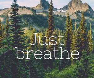 anxiety, breathe, and peace image