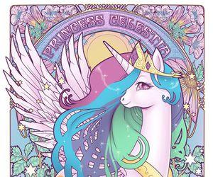 my little pony, unicorn, and princess image