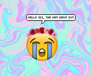 emoji, wifi, and funny image