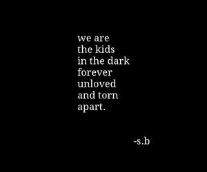 apart, dark, and forever image