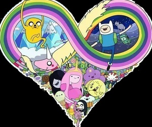 adventure time, JAKe, and cartoon image