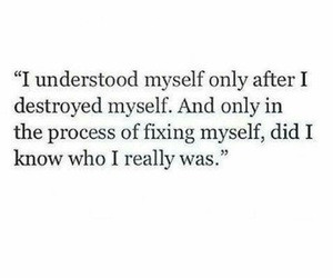 quotes, myself, and sad image