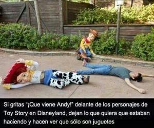 toy story, disney, and disneyland image