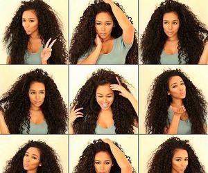 beautiful, hair, and charming image