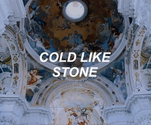 cold, stone, and quote image