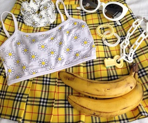 yellow, banana, and aesthetic image