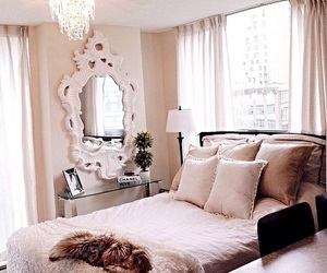beauty, bedroom, and fashion image