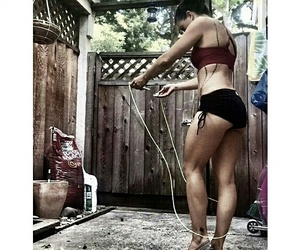 exercise, crossfit, and fitfam image