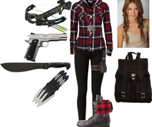 apocalypse, fashion, and weapons image
