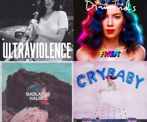 halsey, badlands, and ultraviolence image