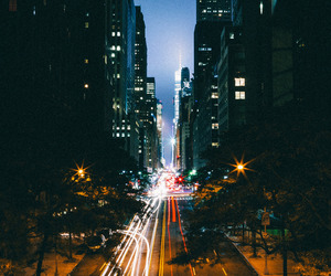 city and lights image