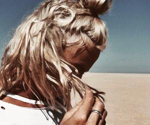 tan, blonde, and hair image