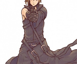 cloud strife and final fantasy VII image
