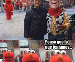 funny, elmo, and woody image