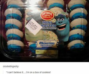 funny, lol, and Cookies image