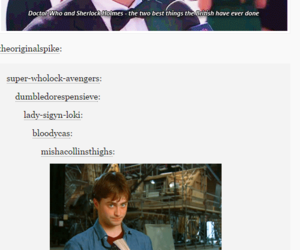 harry potter and doctor who image