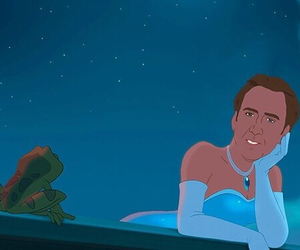 disney, princess, and nicolas cage image