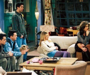 apartment, Jennifer Aniston, and Matthew Perry image