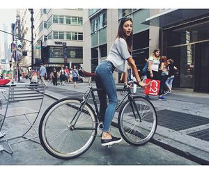 bike, fashion, and nyfw image