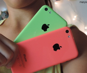 green and iphone image