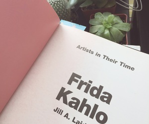 frida kahlo and book image