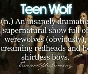 teen wolf and werewolf image