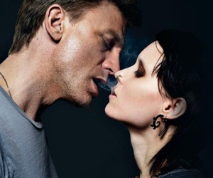 daniel craig, rooney mara, and lisbeth salander image