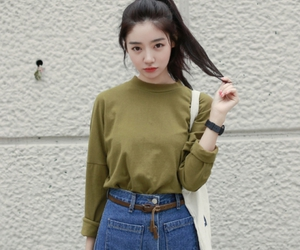 girl, fashion, and asian image