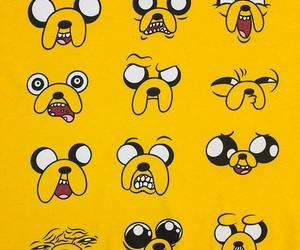 yellow and adventure time image