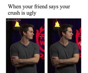 teen wolf, dylan o'brien, and crush image