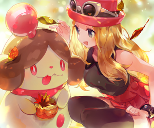 pokemon and serena image